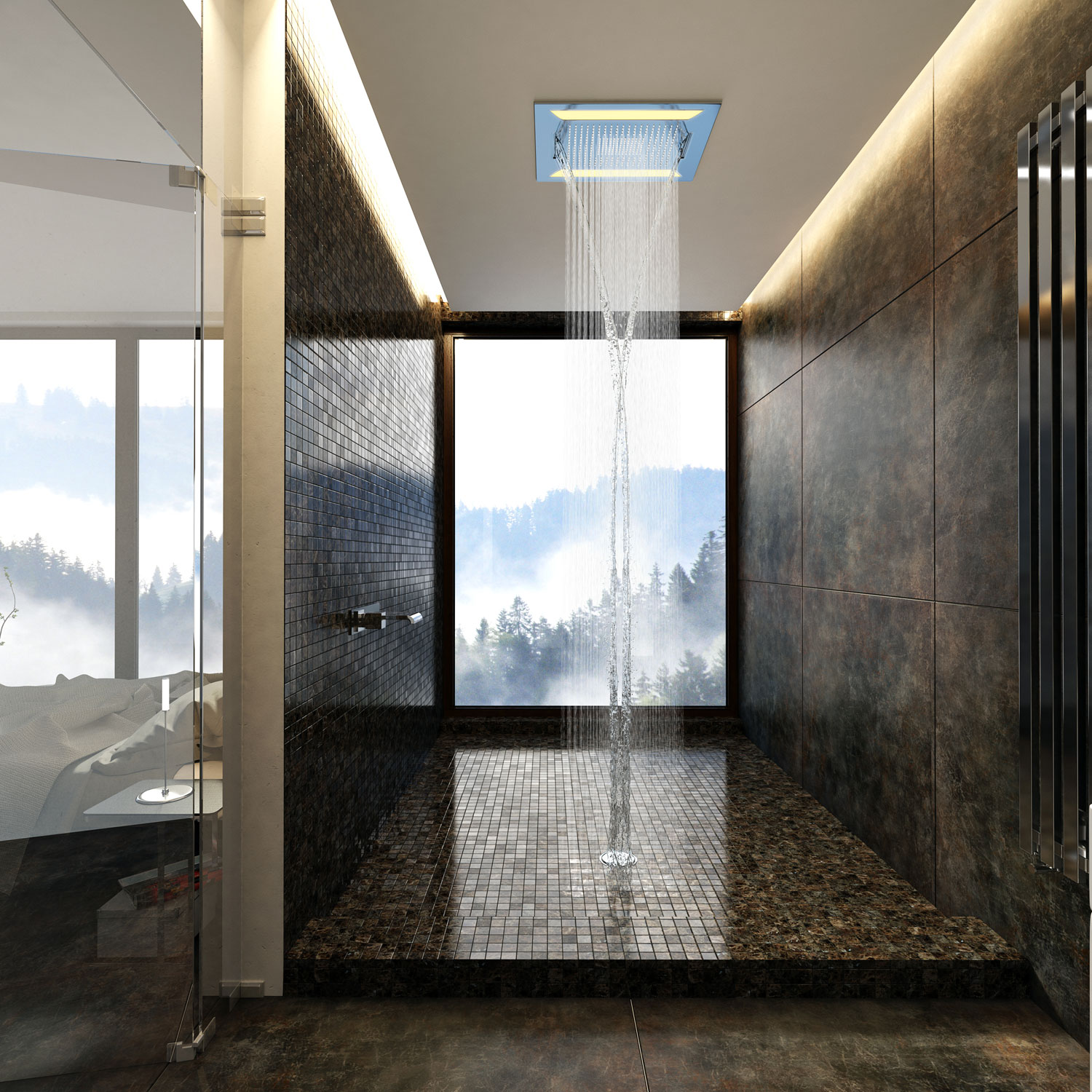 MULTIFUNCTION SHOWER